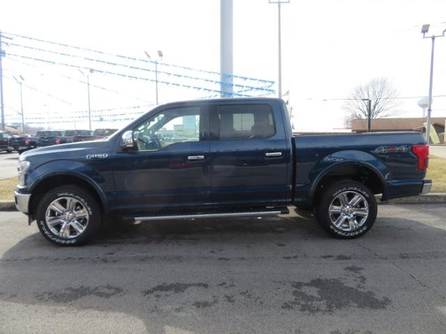 2019 Ford F-150 LARIAT 4WD SuperCrew 5.5 Box Automatic Truck 4 Door Gas V6 3.5L Engine