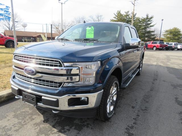 2019 Blue Jeans Metallic Ford F-150 LARIAT 4WD SuperCrew 5.5 Box Automatic Truck 4X4