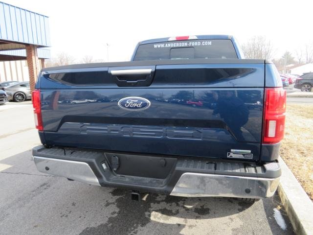 2019 Ford F-150 LARIAT 4WD SuperCrew 5.5 Box Automatic Gas V6 3.5L Engine 4X4 4 Door Truck