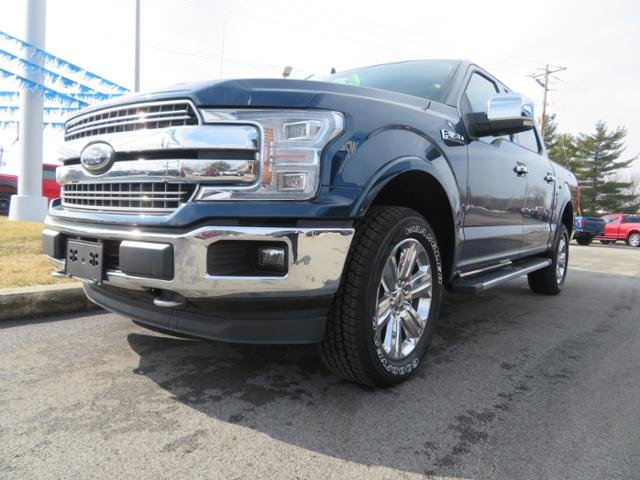 2019 Blue Jeans Metallic Ford F-150 LARIAT 4WD SuperCrew 5.5 Box Truck 4 Door Automatic Gas V6 3.5L Engine
