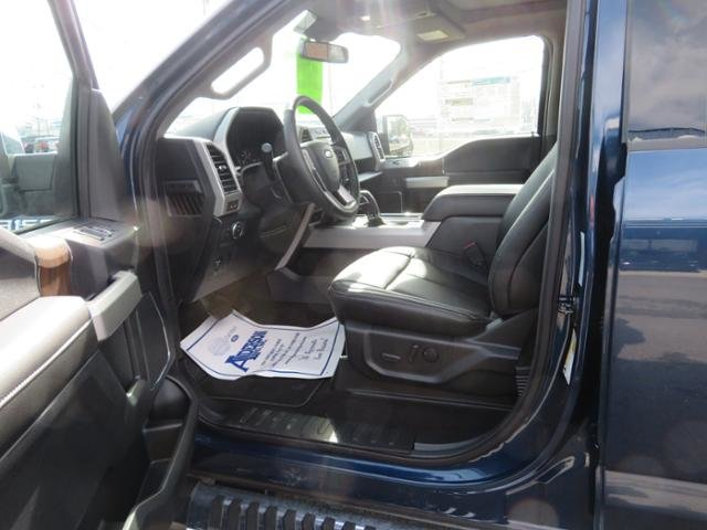 2019 Blue Jeans Metallic Ford F-150 LARIAT 4WD SuperCrew 5.5 Box Gas V6 3.5L Engine Automatic 4X4 4 Door