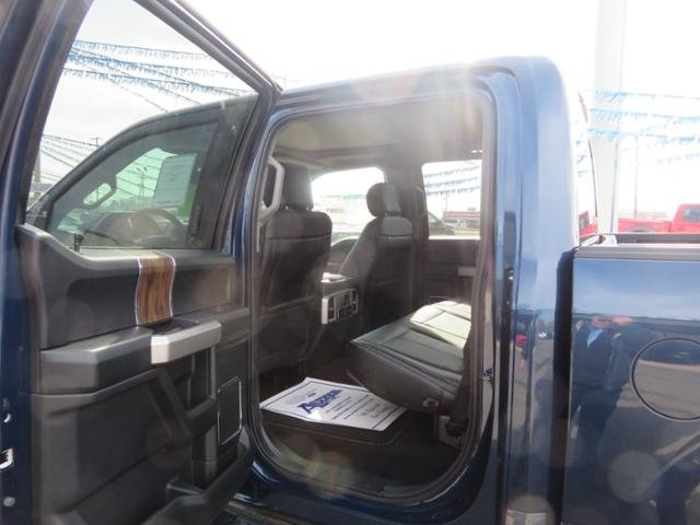 2019 Blue Jeans Metallic Ford F-150 LARIAT 4WD SuperCrew 5.5 Box Gas V6 3.5L Engine Truck 4X4