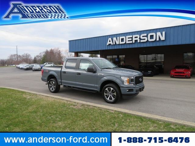 2019 Ford F-150 XL 4WD SuperCrew 5.5 Box 4 Door 4X4 Truck Automatic Gas/Ethanol I8 5.0L Engine