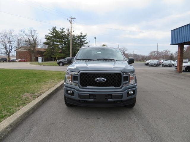 2019 Abyss Gray Metallic Ford F-150 XL 4WD SuperCrew 5.5 Box 4X4 Truck Gas/Ethanol I8 5.0L Engine 4 Door