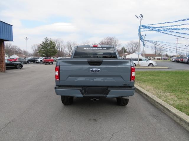 2019 Ford F-150 XL 4WD SuperCrew 5.5 Box 4 Door 4X4 Truck Gas/Ethanol I8 5.0L Engine