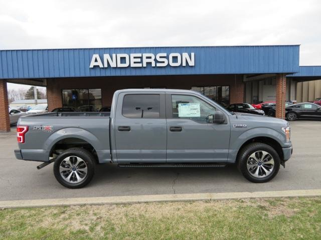 2019 Abyss Gray Metallic Ford F-150 XL 4WD SuperCrew 5.5 Box 4 Door Automatic 4X4 Gas/Ethanol I8 5.0L Engine