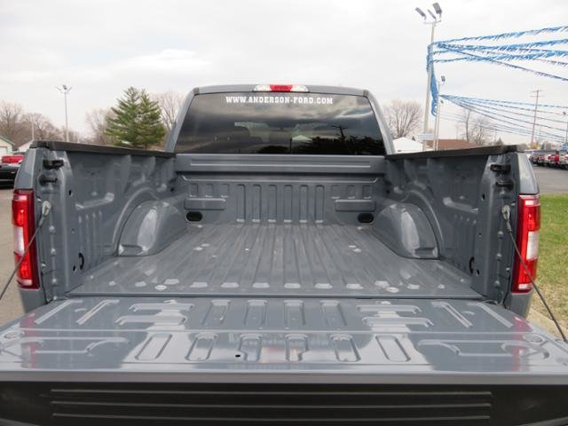 2019 Abyss Gray Metallic Ford F-150 XL 4WD SuperCrew 5.5 Box 4X4 4 Door Gas/Ethanol I8 5.0L Engine Automatic Truck
