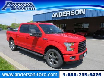 2016 Race Red Ford F-150 4WD SuperCrew 145 XLT Automatic 4 Door 4X4