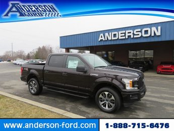 2019 Ford F-150 XL 4WD SuperCrew 5.5 Box Gas V6 2.7L Engine Truck 4X4 4 Door Automatic