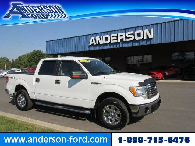 2010 Oxford White Ford F-150 4WD SuperCrew 145 XLT Truck Gas/Ethanol I8 5.4L Engine 4 Door 4X4