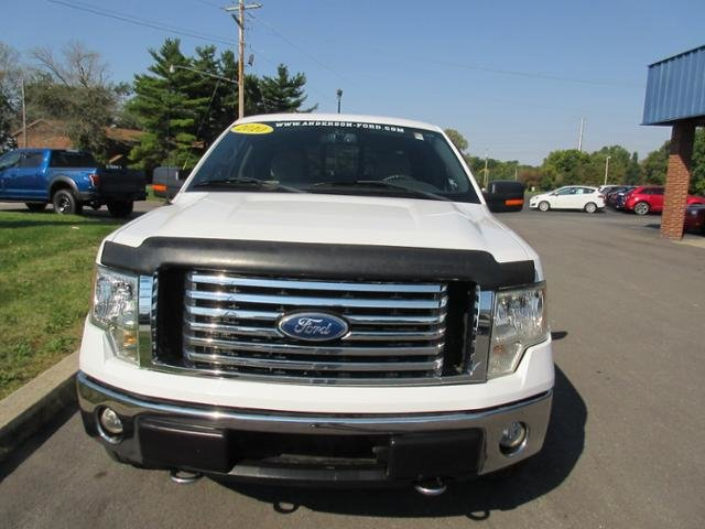 2010 Ford F-150 4WD SuperCrew 145 XLT Gas/Ethanol I8 5.4L Engine 4X4 Automatic 4 Door Truck
