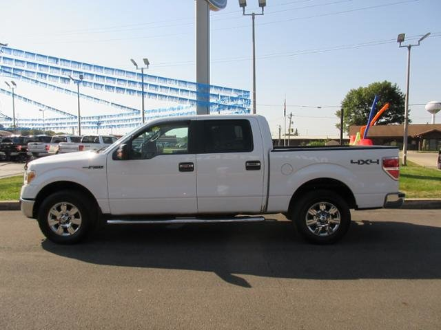 2010 Ford F-150 4WD SuperCrew 145 XLT Truck Gas/Ethanol I8 5.4L Engine 4X4 Automatic