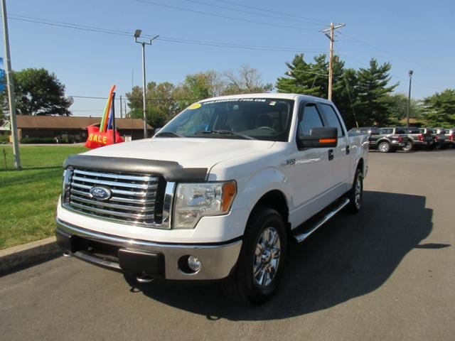 2010 Oxford White Ford F-150 4WD SuperCrew 145 XLT 4X4 Truck Automatic
