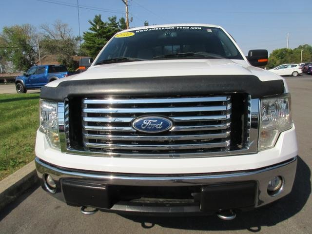 2010 Oxford White Ford F-150 4WD SuperCrew 145 XLT Gas/Ethanol I8 5.4L Engine Truck 4X4 4 Door