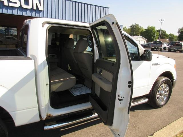 2010 Ford F-150 4WD SuperCrew 145 XLT Truck Automatic Gas/Ethanol I8 5.4L Engine