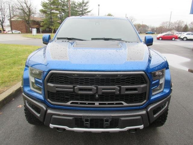 2018 Ford F-150 Raptor 4WD SuperCrew 5.5 Box Truck Automatic 4 Door 4X4 Gas V6 3.5L Engine