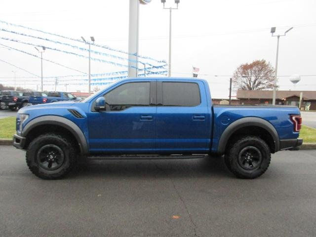 2018 Ford F-150 Raptor 4WD SuperCrew 5.5 Box Truck Gas V6 3.5L Engine 4X4 4 Door Automatic
