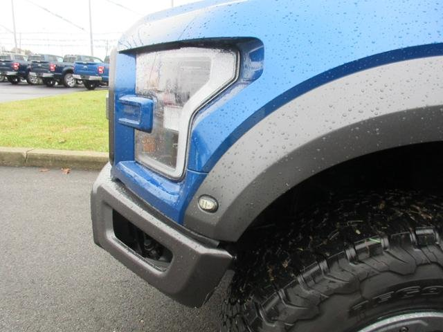 2018 Lightning Blue Ford F-150 Raptor 4WD SuperCrew 5.5 Box 4X4 Gas V6 3.5L Engine 4 Door Truck Automatic