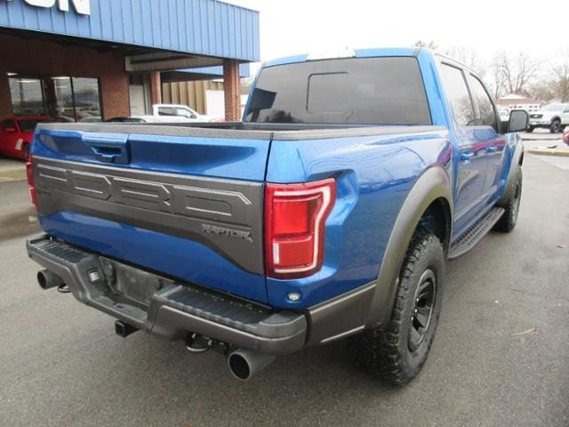 2018 Lightning Blue Ford F-150 Raptor 4WD SuperCrew 5.5 Box 4X4 4 Door Truck Automatic