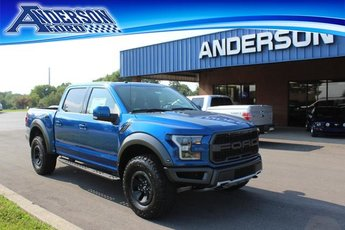 2018 Lightning Blue Ford F-150 Raptor 4X4 4 Door Truck