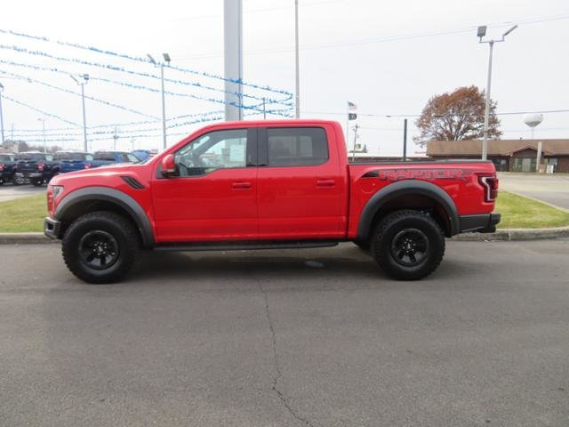 2018 Ford F-150 Raptor 4WD SuperCrew 5.5 Box 4 Door Gas V6 3.5L Engine Automatic Truck
