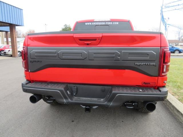 2018 Race Red Ford F-150 Raptor 4WD SuperCrew 5.5 Box Truck Gas V6 3.5L Engine 4 Door 4X4 Automatic