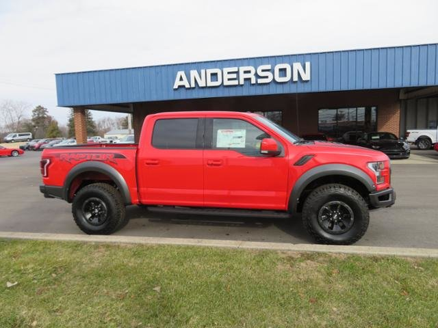 2018 Race Red Ford F-150 Raptor 4WD SuperCrew 5.5 Box Truck 4 Door Automatic