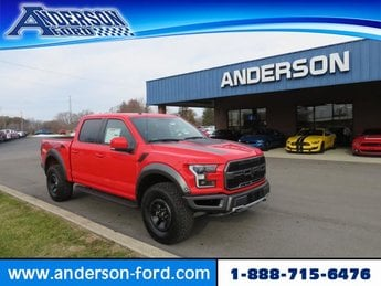 2018 Race Red Ford F-150 Raptor Gas V6 3.5L Engine 4 Door Truck Automatic