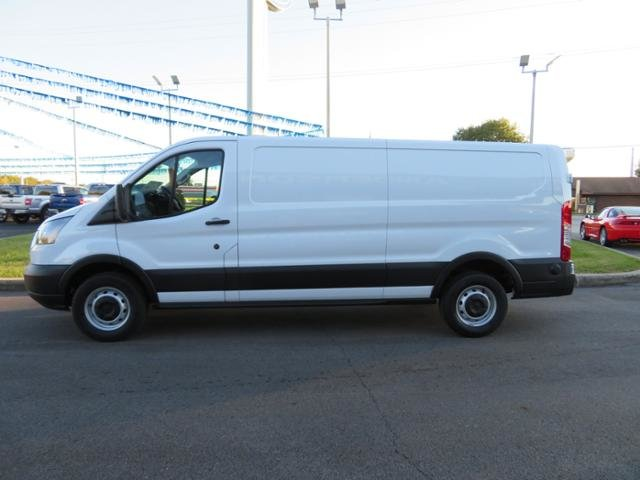 2019 Oxford White Ford Transit T-150 148 Low Rf 8600 GVWR Sliding RWD Gas/Ethanol V6 3.7L Engine Automatic Van 3 Door