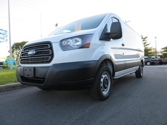 2019 Oxford White Ford Transit T-150 148 Low Rf 8600 GVWR Sliding Gas/Ethanol V6 3.7L Engine RWD 3 Door Automatic Van