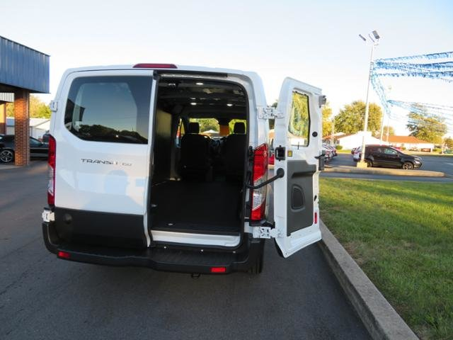 2019 Ford Transit T-150 148 Low Rf 8600 GVWR Sliding Automatic Gas/Ethanol V6 3.7L Engine 3 Door