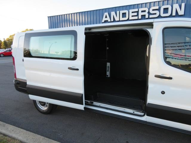 2019 Oxford White Ford Transit T-150 148 Low Rf 8600 GVWR Sliding Gas/Ethanol V6 3.7L Engine Van 3 Door Automatic