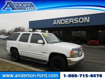 2005 Summit White GMC Yukon SLT Gas I8 5.3L Engine Automatic SUV