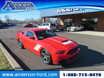 2014 Race Red Ford Mustang Roush Stage 3 Gas I8 5.0L Engine RWD 2 Door Automatic