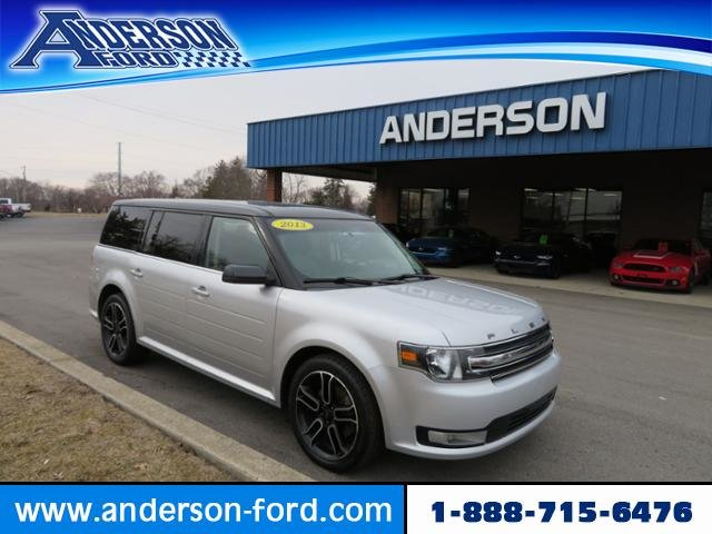 2013 Mineral Gray Metallic Ford Flex 4dr SEL FWD Gas V6 3.5L Engine FWD 4 Door Automatic