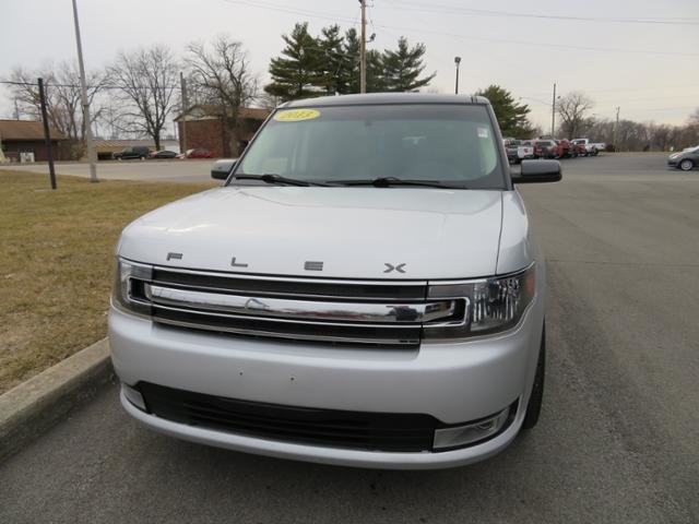 2013 Mineral Gray Metallic Ford Flex 4dr SEL FWD Gas V6 3.5L Engine 4 Door SUV Automatic