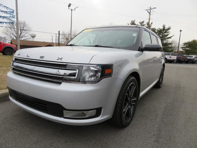 2013 Mineral Gray Metallic Ford Flex 4dr SEL FWD SUV FWD 4 Door Gas V6 3.5L Engine