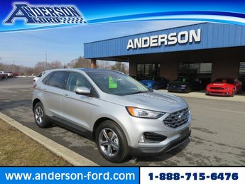 2019 Ingot Silver Metallic Ford Edge SEL FWD FWD Gas I4 2.0L Engine Automatic