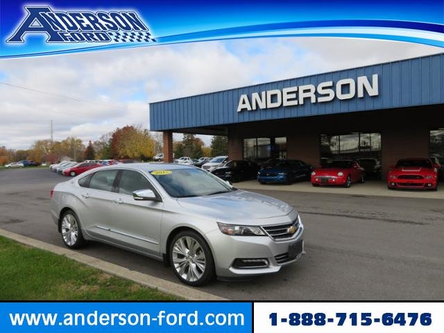 2015 Chevy Impala 4dr Sdn LTZ w/2LZ FWD Gas/Ethanol V6 3.6L Engine Automatic 4 Door