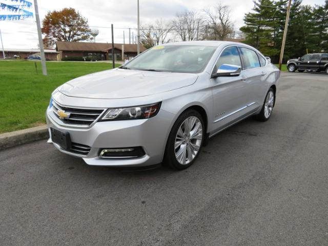 2015 Silver Ice Metallic Chevy Impala 4dr Sdn LTZ w/2LZ Sedan FWD 4 Door Gas/Ethanol V6 3.6L Engine