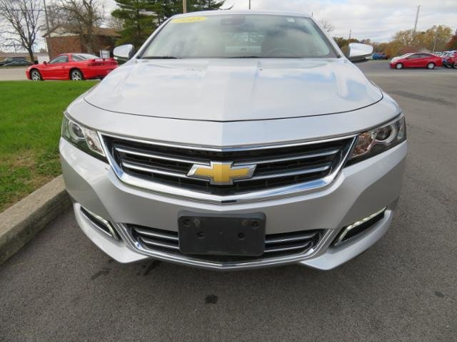 2015 Silver Ice Metallic Chevy Impala 4dr Sdn LTZ w/2LZ 4 Door Sedan FWD Gas/Ethanol V6 3.6L Engine