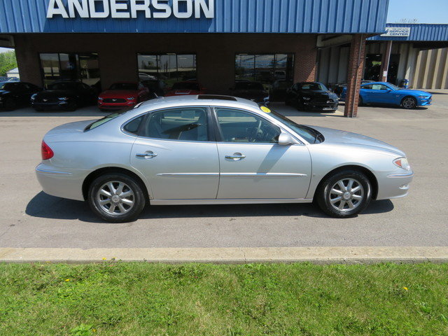 2009 Quicksilver Metallic Buick LaCrosse 4dr Sdn CXL Gas V6 3.8L Engine Sedan FWD