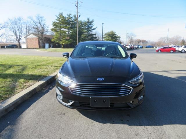2019 Agate Black Ford Fusion SE FWD FWD Sedan Gas I4 1.5L Engine