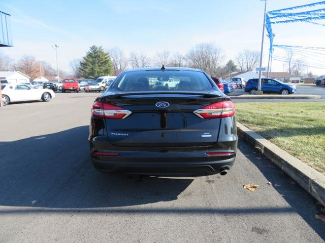 2019 Agate Black Ford Fusion SE FWD Sedan Automatic Gas I4 1.5L Engine