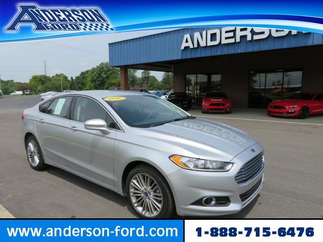 2016 Ford Fusion 4dr Sdn SE AWD Gas I4 2.0L Engine AWD 4 Door Automatic