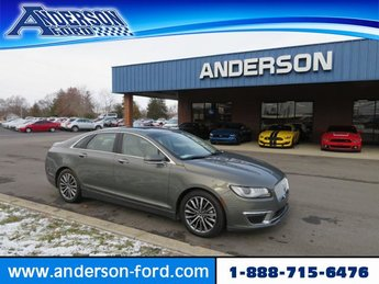 2017 Jade Green Metallic Lincoln MKZ Select Automatic 4 Door Sedan FWD