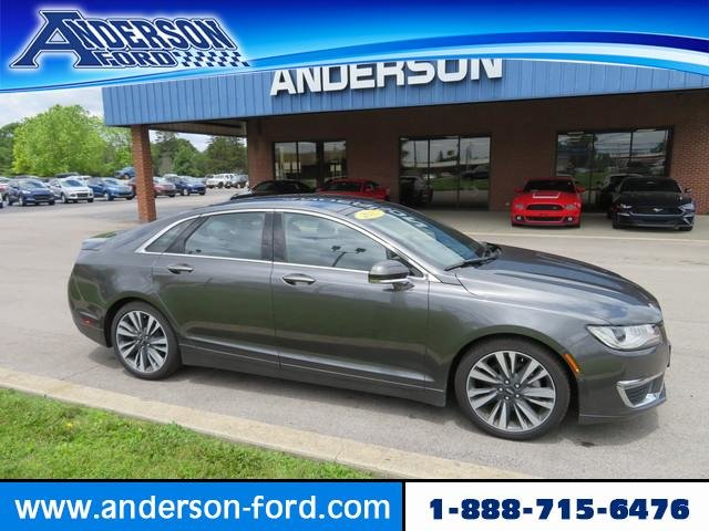 2017 Magnetic Gray Metallic Lincoln MKZ Reserve FWD Sedan Gas I4 2.0L Engine FWD Automatic 4 Door