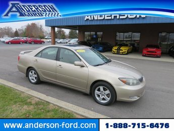 2002 Desert Sand Mica Toyota Camry 4dr Sdn SE V6 Auto FWD Sedan 4 Door Automatic Gas V6 3.0L Engine