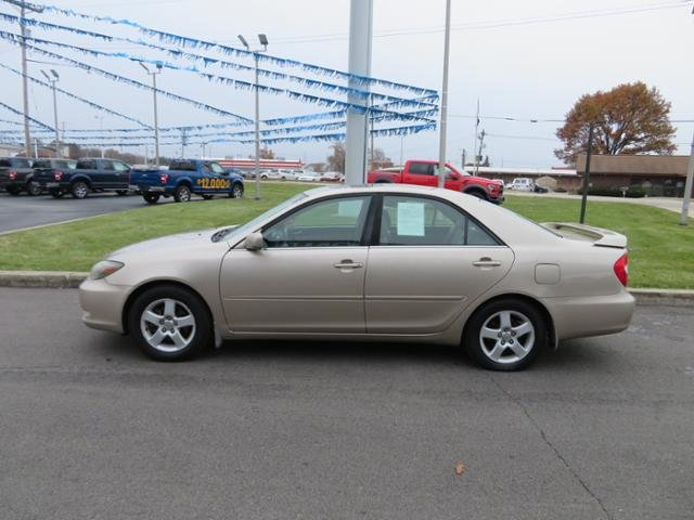 2002 Desert Sand Mica Toyota Camry 4dr Sdn SE V6 Auto Automatic FWD Sedan Gas V6 3.0L Engine 4 Door