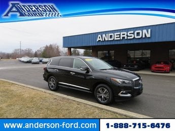 2018 Black Obsidian Infiniti QX60 AWD Automatic SUV AWD 4 Door
